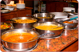 See Our East India Grill Buffet