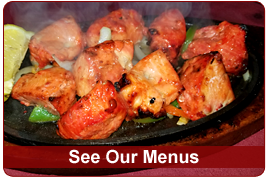 See East India Grill Restaurant Menus