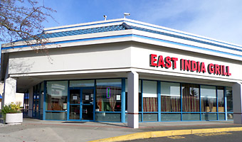 East India Grill Located in Gateway Center Plaza in Federal Way Washington